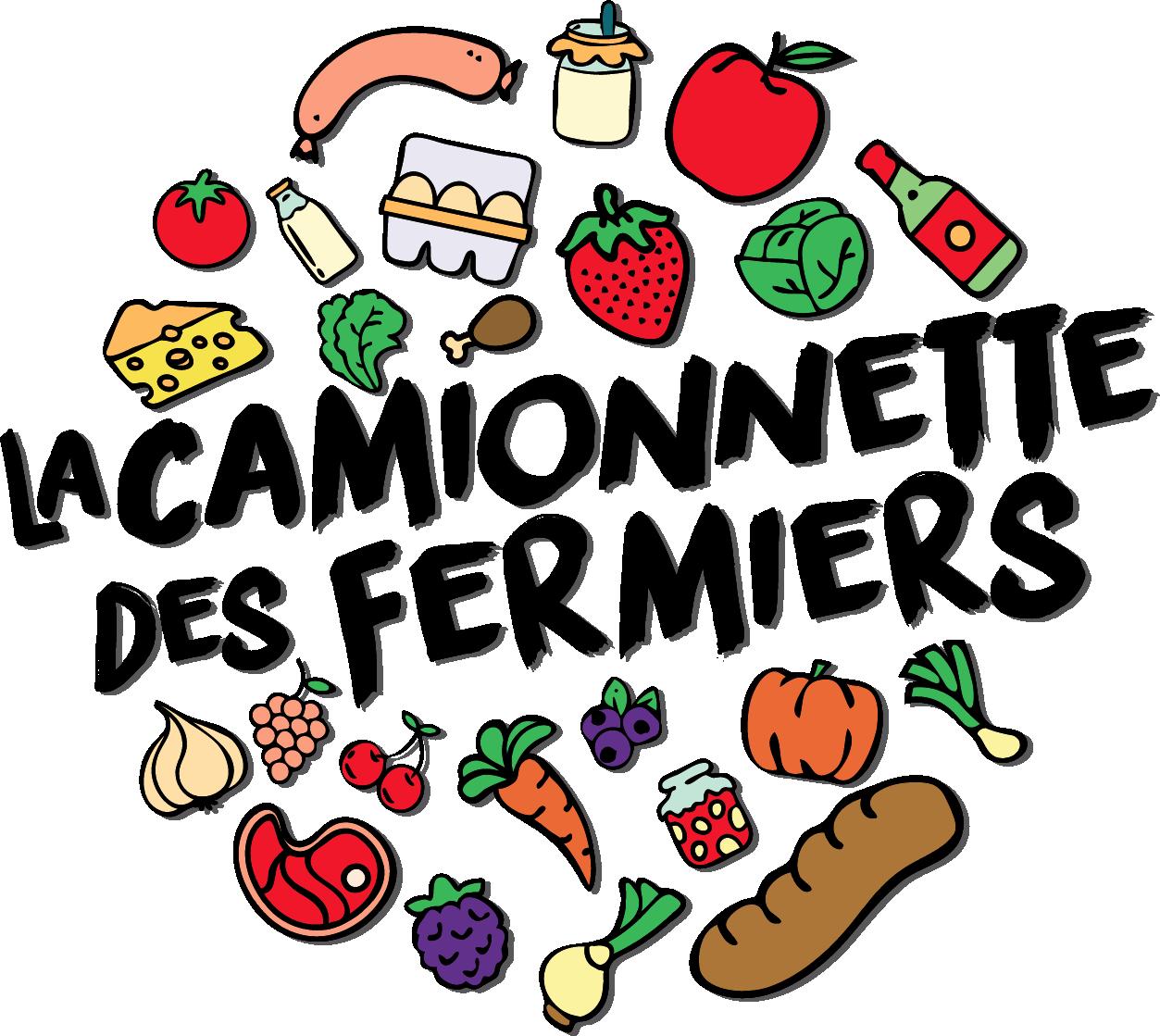 Création logo Camionnette des Fermiers Remiremont