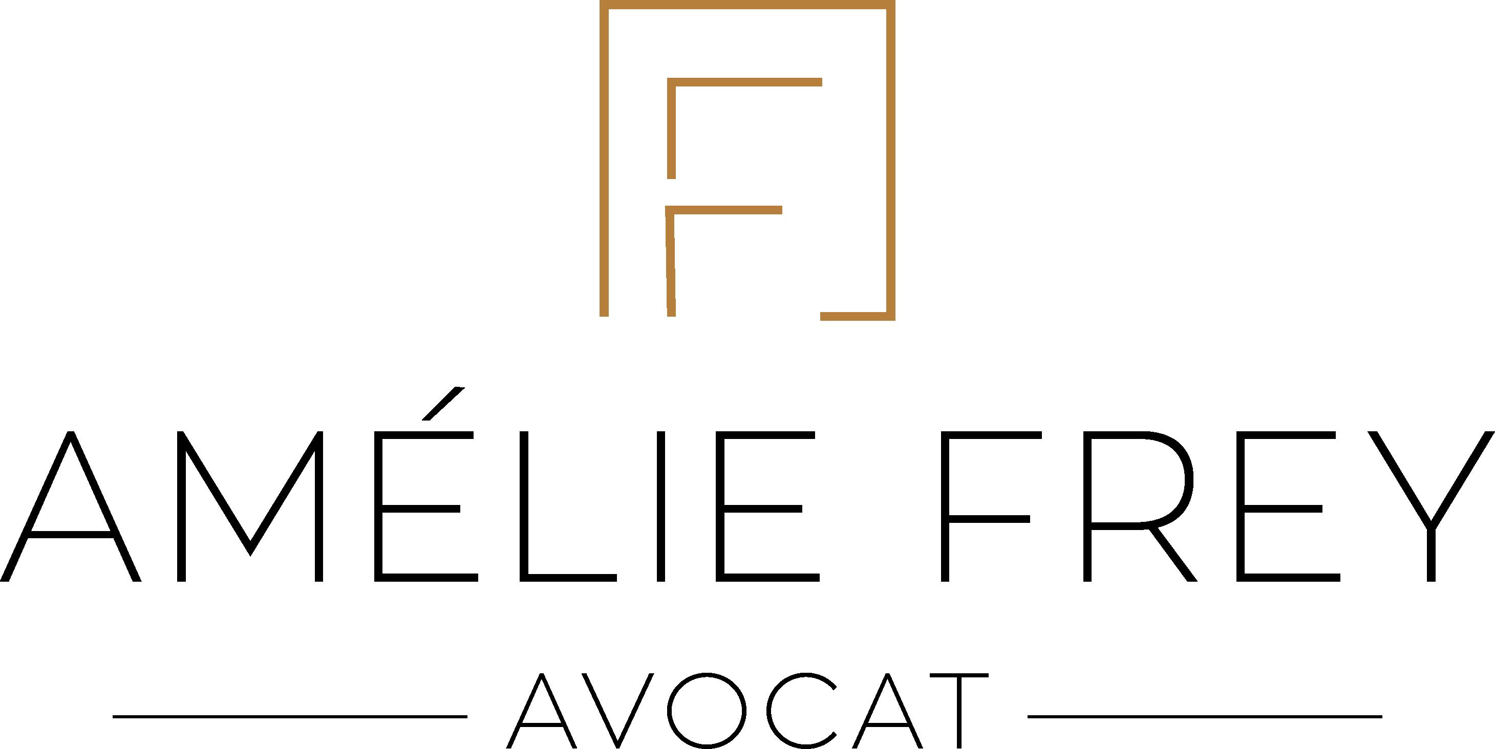 Amélie Frey création logo avocat