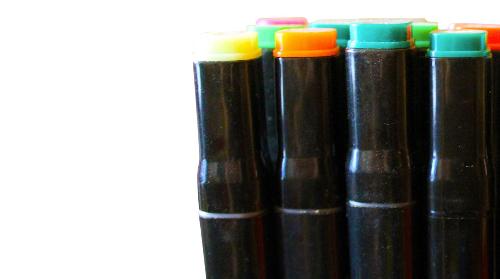 feutres pencils couleurs